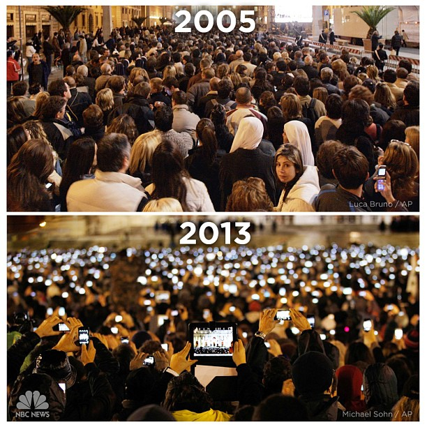Apple 2005 and 2013