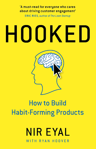 The book cover of Hooked