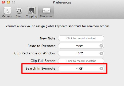 Evernote_Preferences_shortcuts